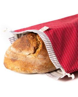 Bagydesign Chlebovka - pytlík na chleba červený