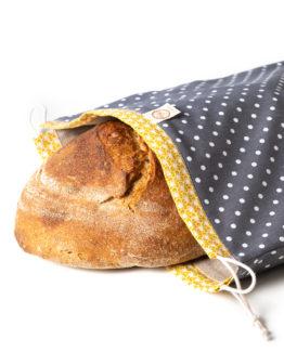 Bagydesign Chlebovka - pytlík na chleba šedý