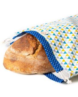 Bagydesign Chlebovka - pytlík na chleba trojúhelníčkový