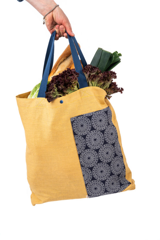 Bagydesign lněná nákupní taška