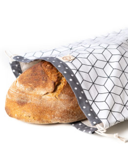 Bagydesign Chlebovka - pytlík na chleba bílá limitovaná edice