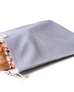 Bagydesign Chlebovka - pytlík na chleba šedá limitovaná edice