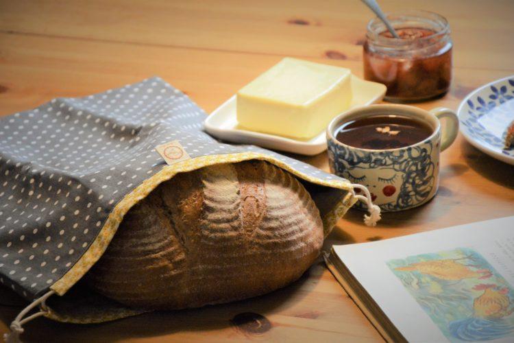 Chlebovka Bagydesign - dvouvrstvý pytlík na chleba