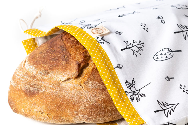 Bagydesign Chlebovka - pytlík na chleba stromečková limitovaná edice